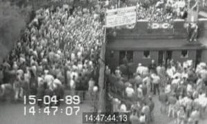 Hillsborough footage