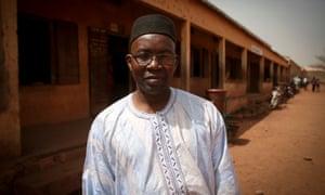 School director Adamo Issa Diarra.