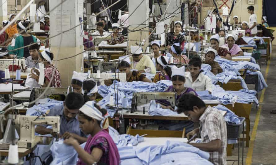 A garment factory in Dhaka, Bangladesh. A 2010 fire in a Dhaka factory was a watershed moment for Gap's involvement in worker safety.