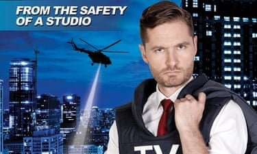 Affable anchor: Charlie Pickering