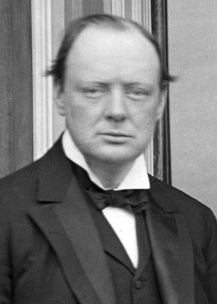 First Lord of the Admiralty, Winston Churchill.