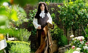 Here comes the Sun King … Alan Rickman as Louis XIV in A Little Chaos.