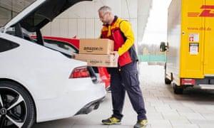 Amazon boot deliveries