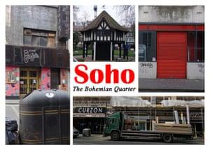 Gram Hilleard Postcards London
