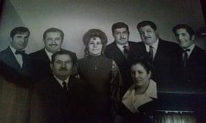 Ohanes Babasoloukian and family