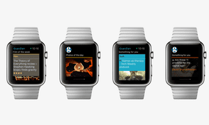 Guardian Moments for Apple Watch showing highlights
