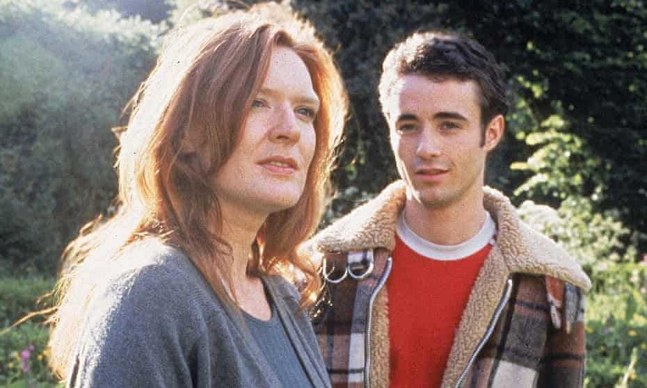 Winning charm … Joe McFadden with Patricia Kerrigan in The Crow Road