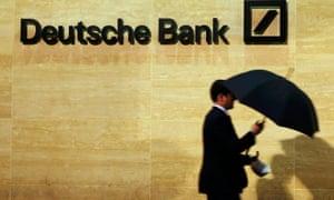 Deutsche Bank has been hit by a multi-billion dollar fine for rigging Libor.