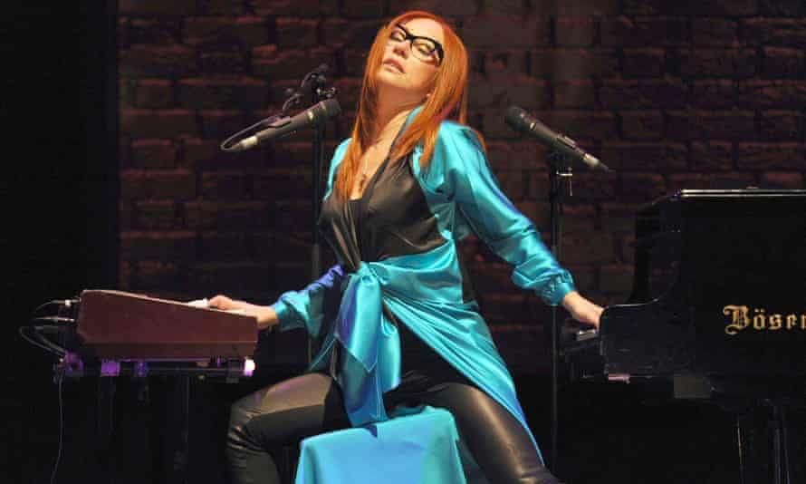 Tori Amos in concert at the Royal Albert Hall.
