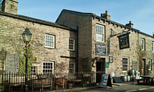 The Green Dragon Inn at Hardraw, Upper Wensleydale, Yorkshire Dales National Park