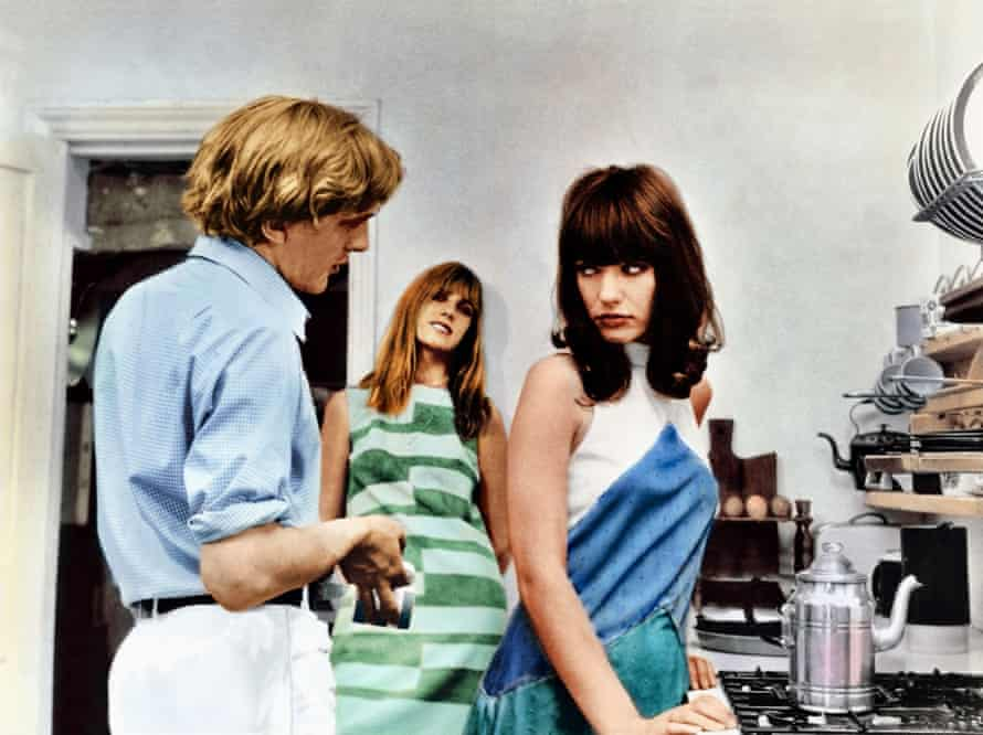 Film 'BLOW UP; BLOWUP' (1966) showing DAVID HEMMINGS, GILLIAN HILLS & JANE BIRKINDirected By MICHELANGELO ANTONIONI