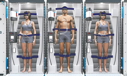 Space hibernation by SpaceWorks