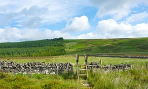 The Pennine Way near Bellingham, Northumberland National Park.