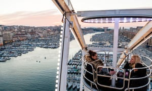 Southern belle … Marseille's revitalised Vieux-Port area.