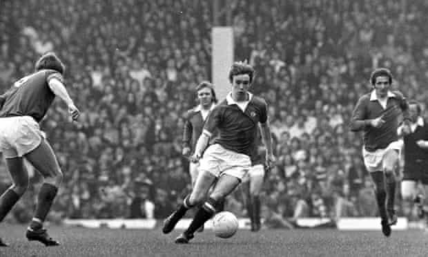 Manchester United v Everton 1974 joy of six