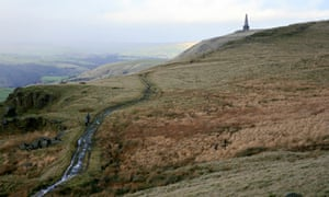 The 400-metre Stoodley Pike and the Battle of Waterloo monument.