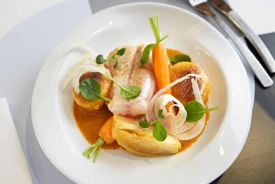 Fine fish cuisine at Le Poulpe