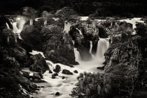 Landscapes category 2nd place and praise of the jury: Anette Mossbacher - Silent roar. Epupa falls in Namibia, nothern border with Angola, Africa.