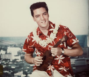 Elvis, the leather-clad king, somehow lost sight of his ambitions in Hawaii.