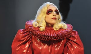 Self-confessed 'monster' of ambition? Lady Gaga at The Royal Variety Performance 2009, Opera House, Winter Gardens, Blackpool.