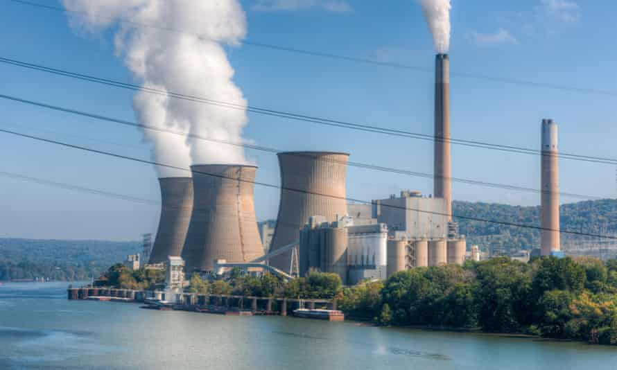 Corporate lobbyists, including Mars' Brad Figel, support the EPA's plan to reduce coal-burning plants, such as Pennsylvania's Bruce Mansfield Power Station.