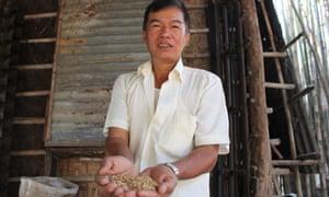 Burma rice man