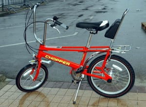 The Raleigh Chopper I never had as an ambition. Mind you, this model doesn't have the classic gear shifter, so I'm not that bothered.