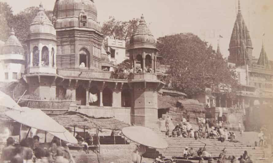 Benares, India, in 1889. Christopher Bayly focused much of his work on the city during the 18th and 19th centuries. Jardine Collection/Centre of South Asian Studies, Cambridge