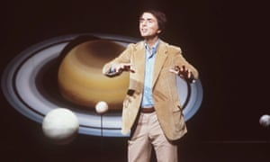The truly awesome Carl Sagan in 1981.