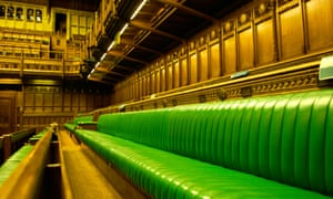 The House of Commons in the Palace of Westminster, London