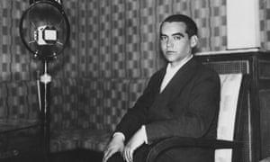 Spanish playwright and poet Federico Garcia Lorca