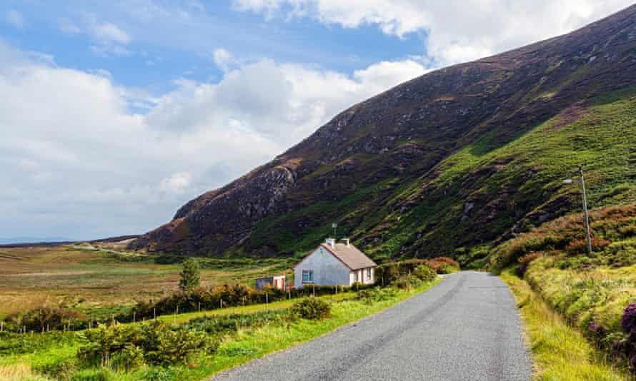 Countryside scene in republic of Ireland