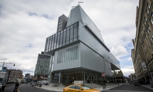 Awkwardly industrial: the new Whitney Museum of American Art.