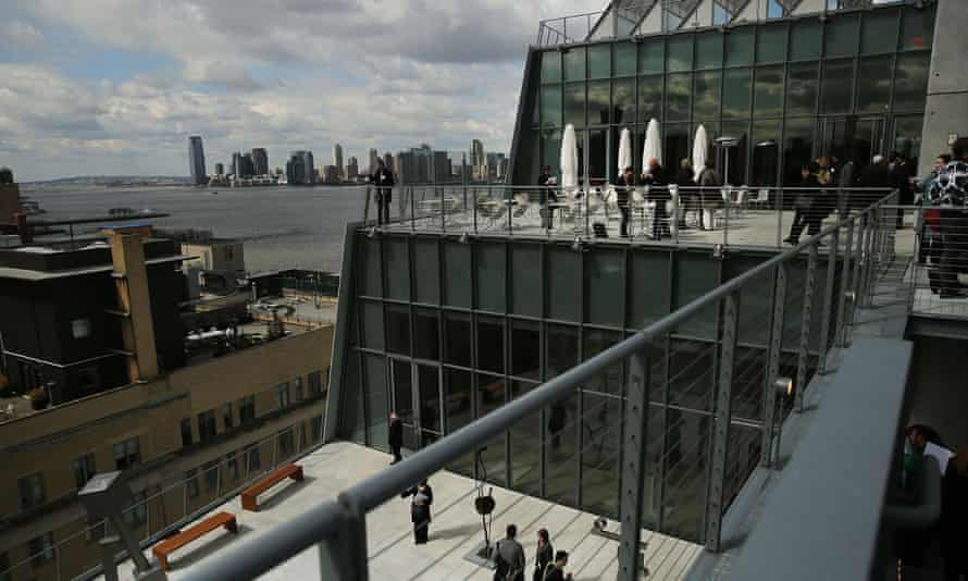 The view from the Whitney's terraces.