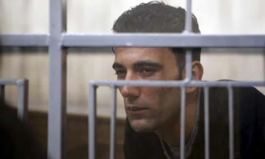 Mohammed Ali Malek in court in Catania, Sicily.