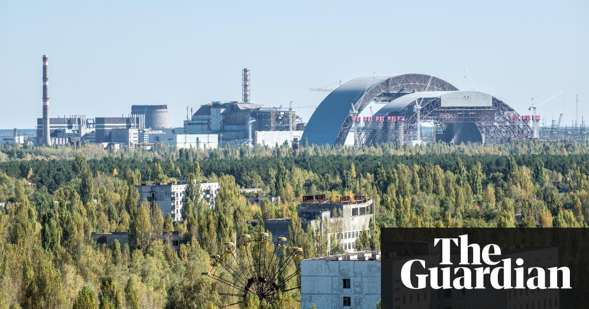 Chernobyl arch faces 265m funding gap ahead of disasters 29th old and new construction called sarcophagus covering the nuclear reactor no 4 in chernobyl nuclear freerunsca Images