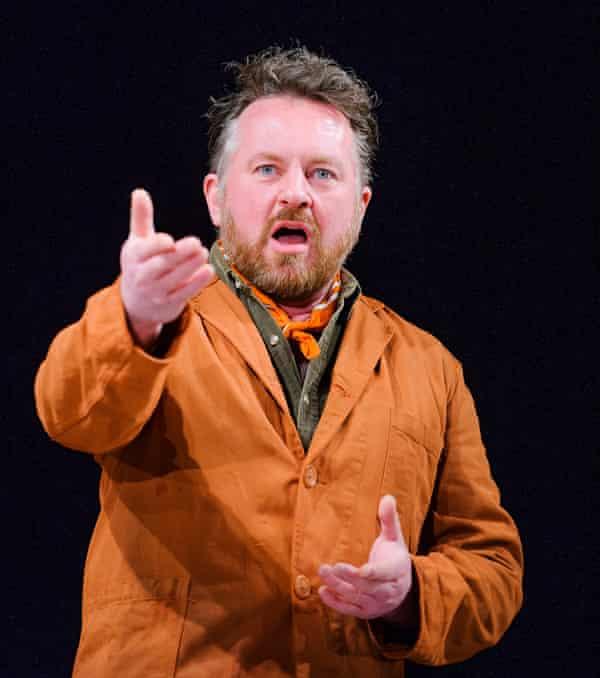 Joe Caffrey as Claxton in Light Shining In Buckinghamshire.