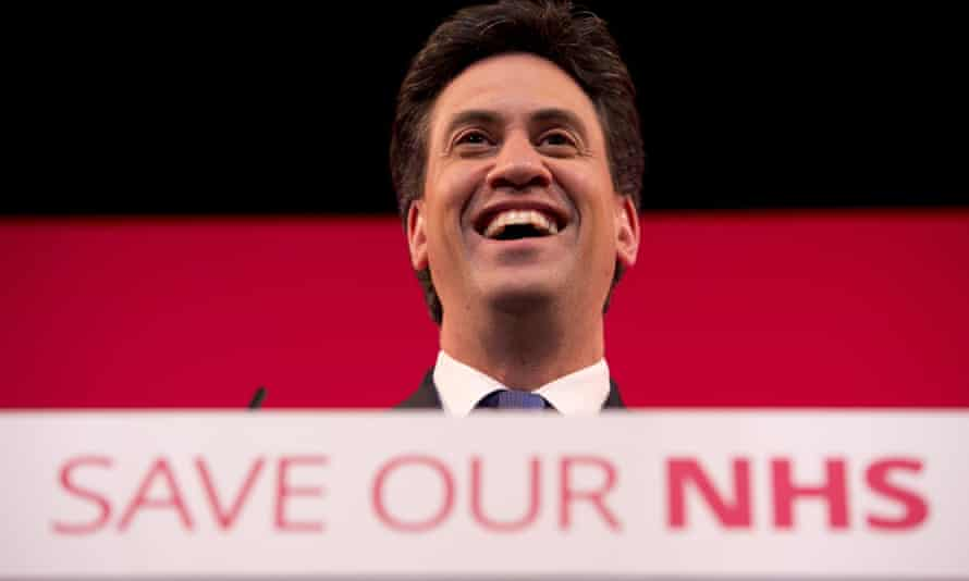 Ed Miliband addresses an audience during a campaigning visit to Leeds. Pollsters now believe the Labour leader is best positioned in the polls to become prime minister.