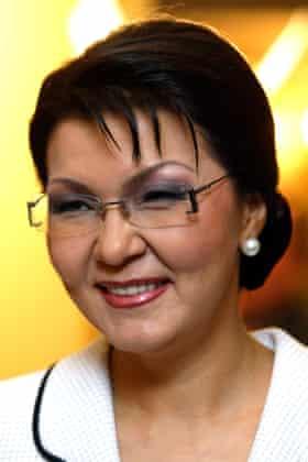 Dariga Nazarbayeva, the president's eldest daughter.
