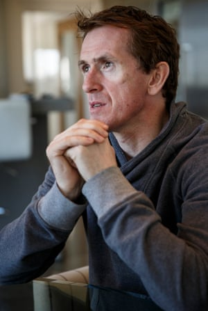 Tony McCoy poses for a portrait at his home in Lambourn.