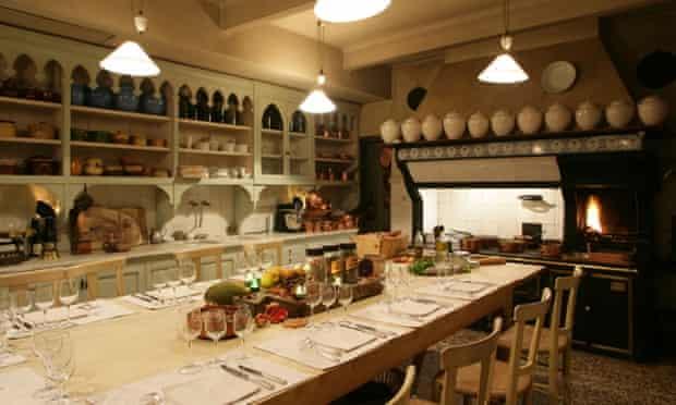 The cooking school at the Hôtel de La Mirande