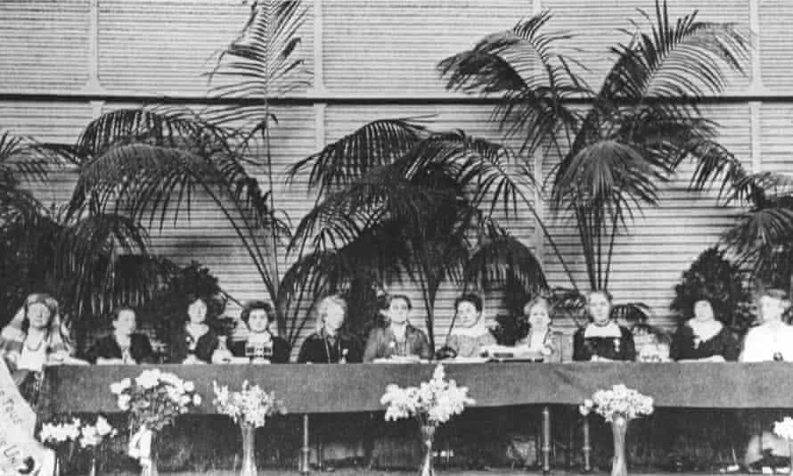 The 1915 International Congress of Women at the Hague.