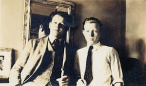 Jackson and Charles Pollock in New York, 1930.