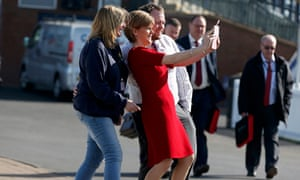 Scottish National party (SNP) leader Nicola Sturgeon