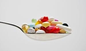 Spoonfull of pills