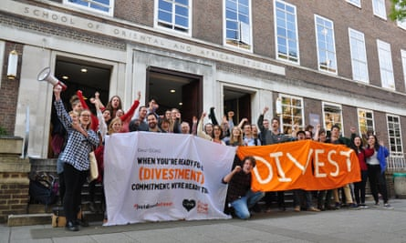SOAS, University of London, has announced that it will divest from fossil fuels within the next three years, in order to show leadership in the fight against climate change. SOAS is the first university in London to divest.