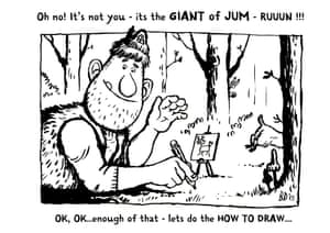 how to draw giant Jum 3
