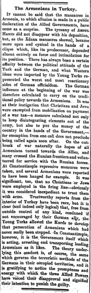The Manchester Guardian, 26 May 1915.