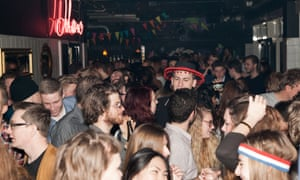 Party time: Jolene bar in the Meatpacking district