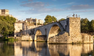 The Pont Saint-Benezet, Avignon, in southern France